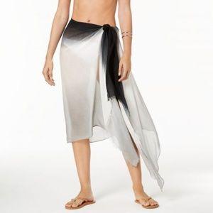 Calvin Klein Ombre Cover-Up Wrap Scarf OS